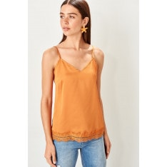 Trendyol Orange camisole Blouse