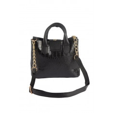 Trendyol Black Kroko Women's Shoulder Bag