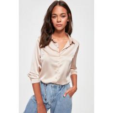 Trendyol Beige Basic Shirt