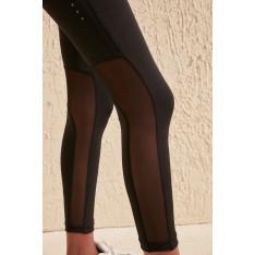 Ženske helanke Trendyol Black zipper