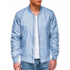 Ombre Clothing Men's mid-season bomber jacket C439