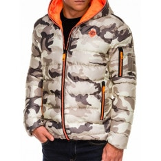 Ombre Clothing Men's winter jacket C367