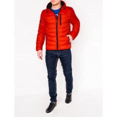 Ombre Clothing Men's winter quilted jacket C371