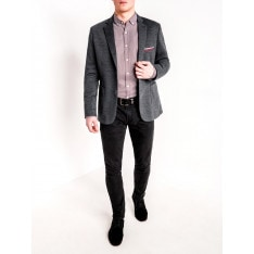 Ombre Clothing Men's casual blazer jacket M74