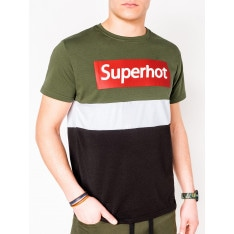 Ombre Clothing Men's printed t-shirt S1083