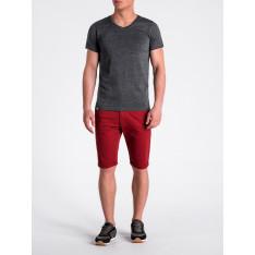 Ombre Clothing T-shirt męski bez nadruku S1041