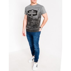 Ombre Clothing Men's printed t-shirt S1071