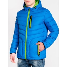 Ombre Clothing Men's mid-season quilted jacket C356