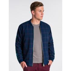 Ombre Clothing Men's mid-season bomber jacket C424