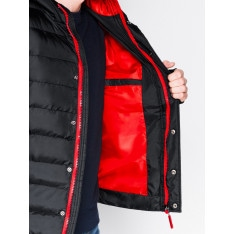 Ombre Clothing Men's winter quilted jacket C124