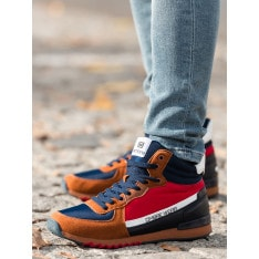 Ombre Clothing Men's ankle sneakers T327