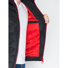 Ombre Clothing Men's winter quilted jacket C363