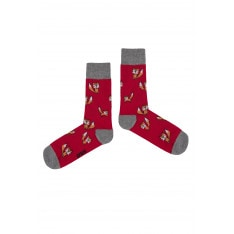 Crazy Socks Unisex's Socks  Fox