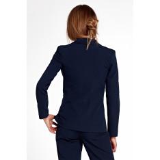 Nife Woman's Jacket Z25 Navy Blue