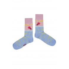 Crazy Socks Unisex's Socks Pink Sunset