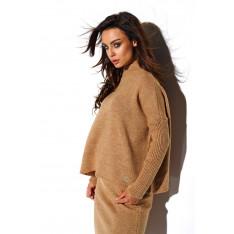 Lemoniade Woman's Set (Sweater + Skirt) LS260 Camel