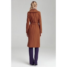 Colett Woman's Coat Cpl02 Honey