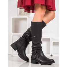 SUPER MODE ECO LEATHER BOOTS