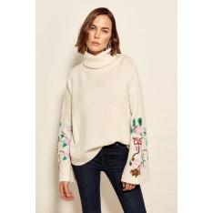 Trendyol Tak Jakar Detailed Trikoı Sweater