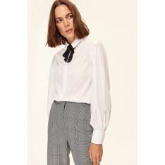 Trendyol White Side Binding Detailed Shirt