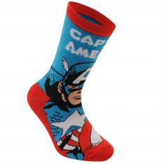 Marvel 3 Pack Crew Socks Child