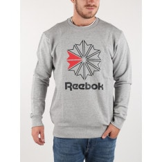 Reebok Classic AC FT Big Starcrest Crew Sweatshirt