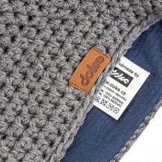 Crochet beanie Merino DOKE