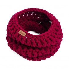 Winter crochet scarf DOKE SCARF