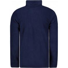 Pierre Cardin Quarter Zip Two Colour Fleece Mens