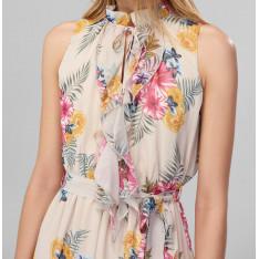 Women's Dress Trendyol Multicolored Ruffle