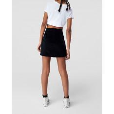 Women's Skirt Trendyol Eyelet Velvet