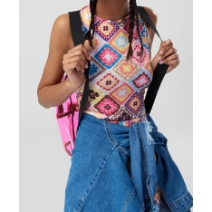 Women's Blouse Trendyol Multicolored Crop