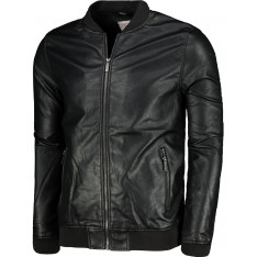 Lee Cooper Bomber PU Jacket Mens