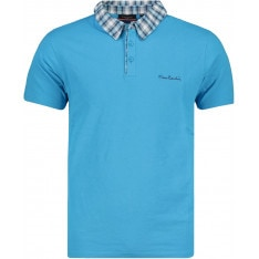 Tricou polo barbati Pierre Cardin Short Sleeve Check Collar