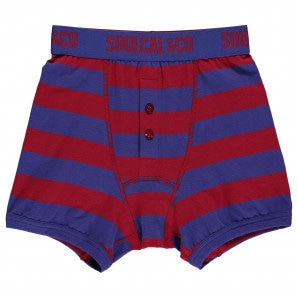 SoulCal Boxers Pack of 2 Junior Boys