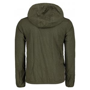 Pánska bunda Lee Cooper Print Hooded Jacket