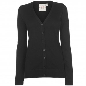 Lee Cooper Soft Knit Cardigan Ladies