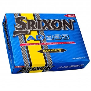 Srixon AD333 Golf Balls 12 Pack