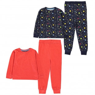 Crafted Essentials 2 Pack Design Pyjamas Childrens