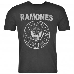 Amplified Clothing The Ramones T Shirt Mens