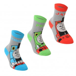 Character Engine 3 Pack Crew Sock Infant Boys