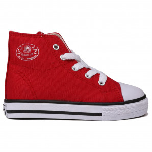 Dunlop Infant Canvas High Top Trainers