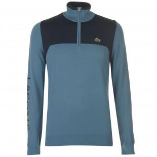 Lacoste Sport Zip Neck Sweater