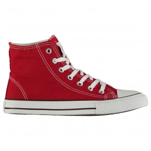 Lee Cooper Canvas Hi Top Shoes Mens