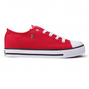 Dunlop Canvas Low Kids Trainers