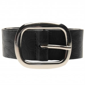 Lee Cooper Embossed Floral Belt Ladies