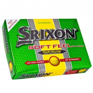 Srixon Soft Feel Golf Balls 12 Pack