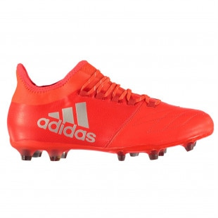 Adidas X 16.2 FG Solar Red Silver Mens Football Boots