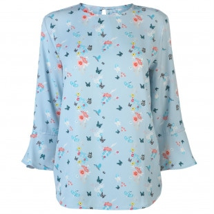 Rock and Rags All Over Pattern Blouse Ladies