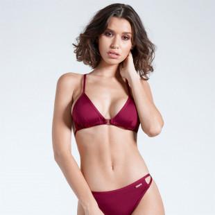 Firetrap Blackseal Cross Back Bikini Top
